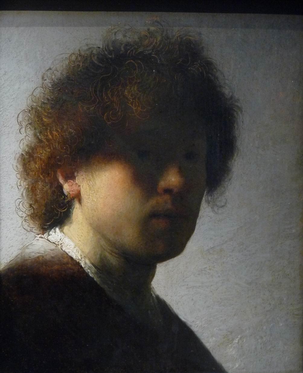 autoportrét 1628