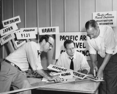 1952 příprava první konference