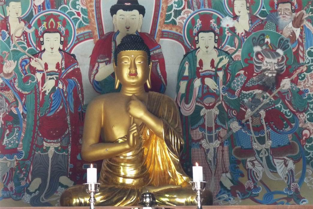 Korea buddha