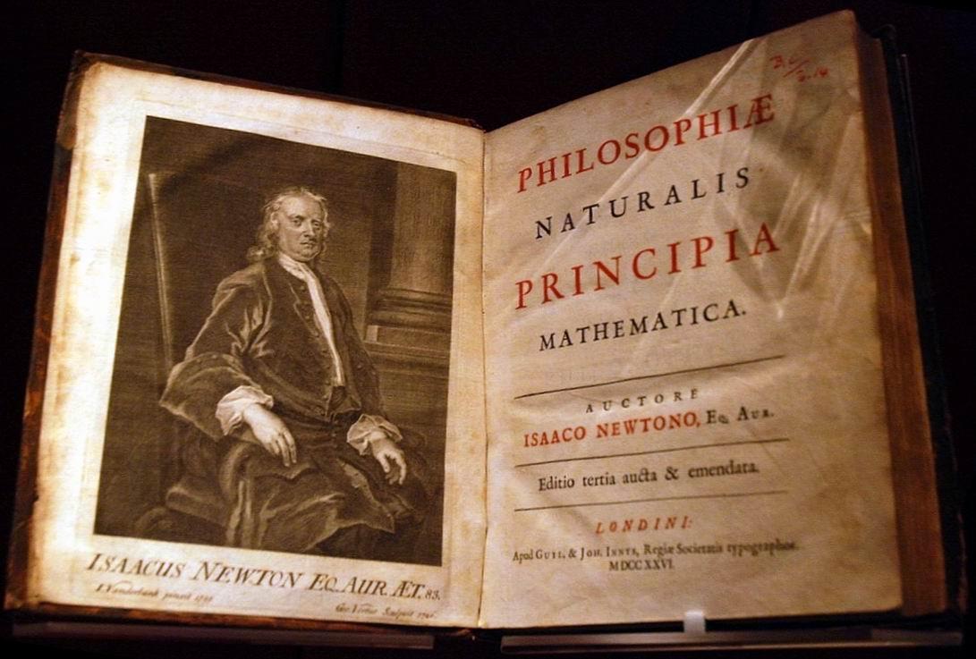 Principia třetí vydání Londýn 1726_John_Rylands_Library