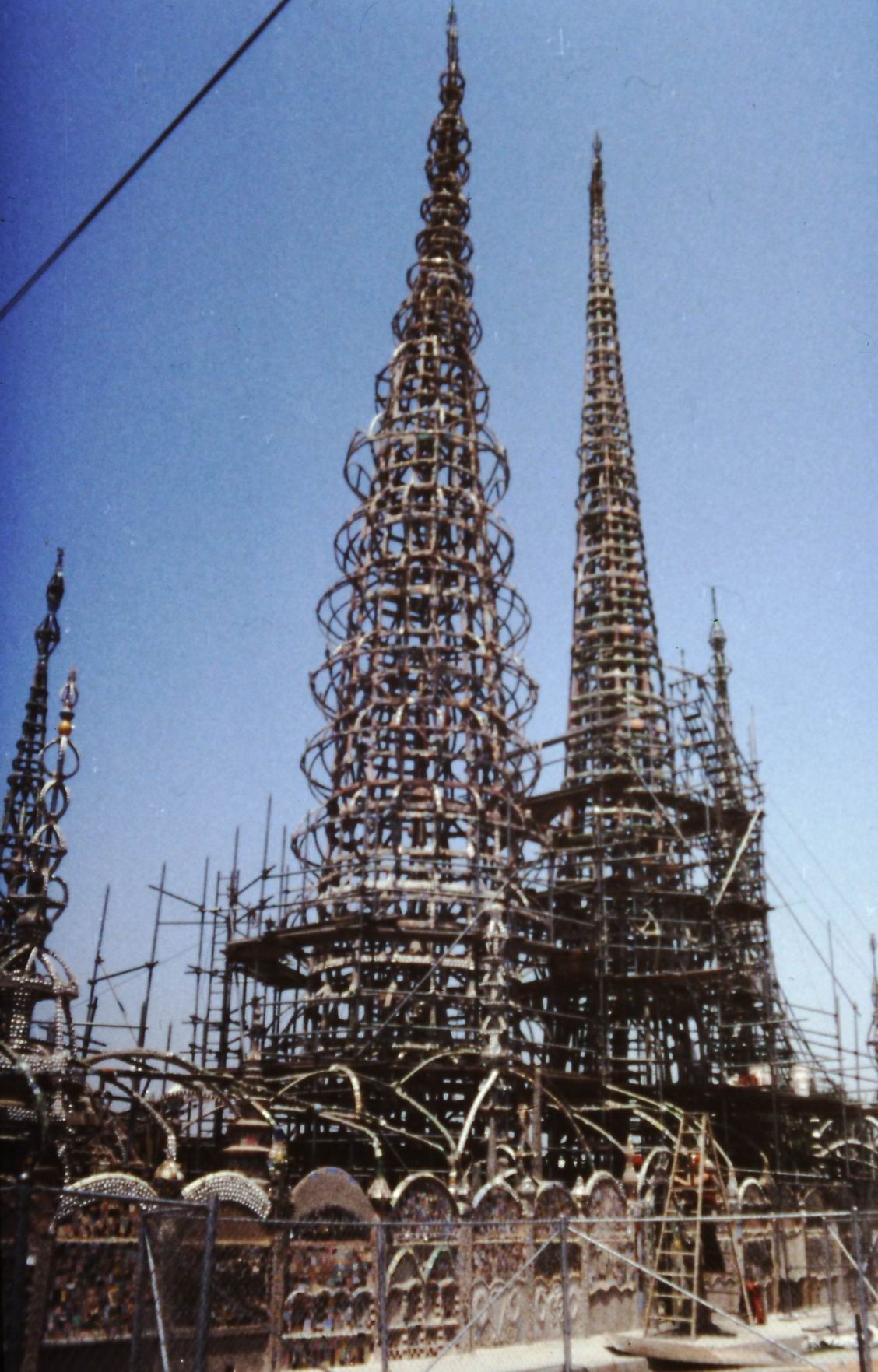 """Watts Towers"" od Simona Rodii v los Angeles"