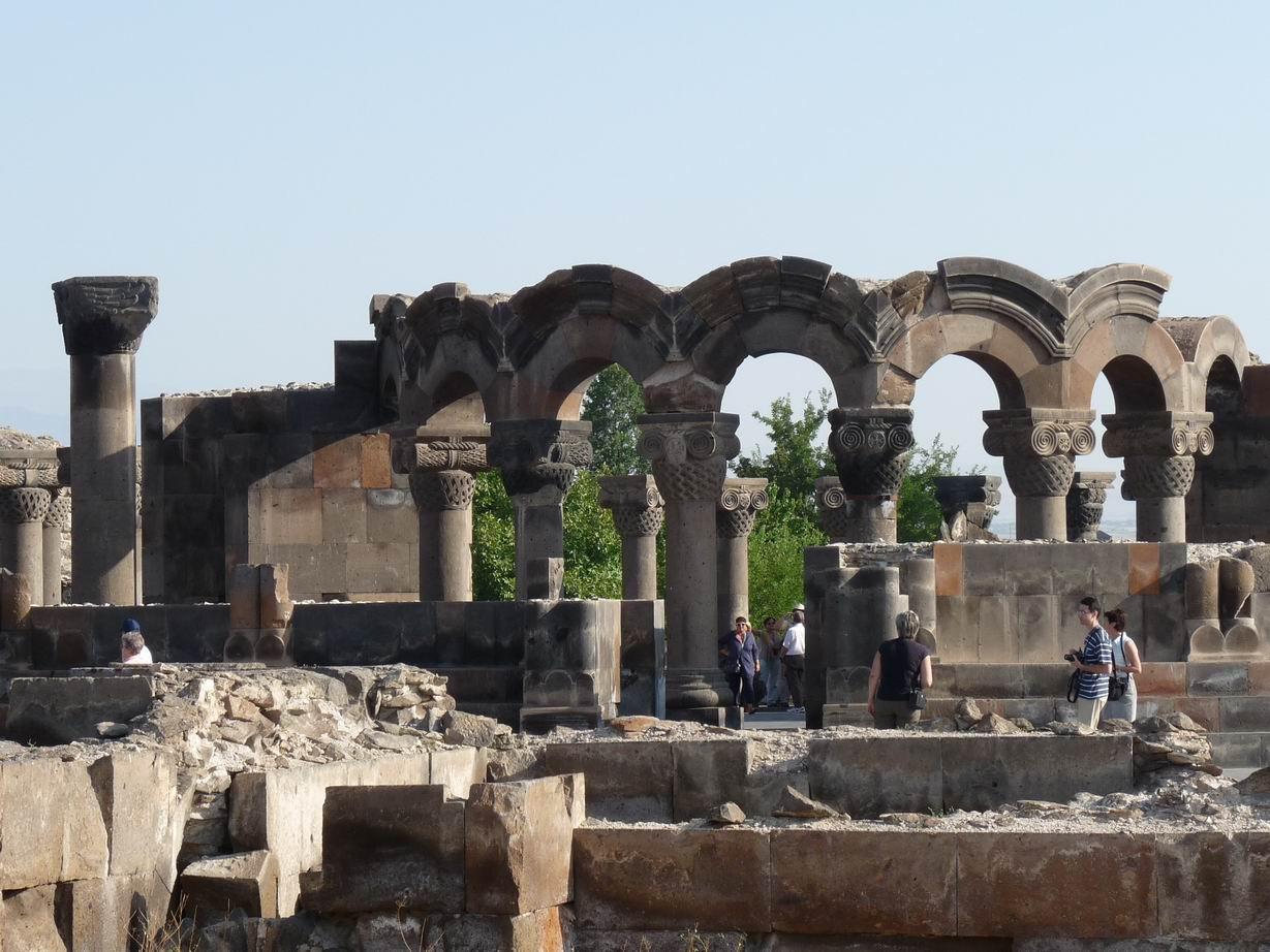 zvartnots-armenie