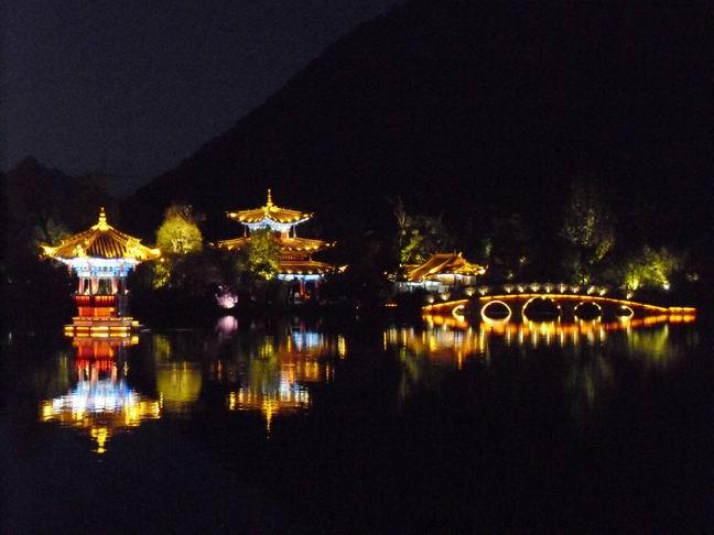 noční Lijiang
