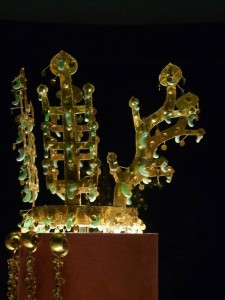 Korea - královská koruna (říše Silla)