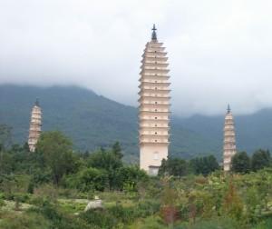 pagody v Dali
