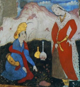 perská miniatura