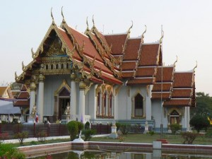 thajský chrám v indické Bodh Gayi